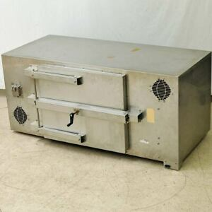Emi rf Test Chamber Enclosure Stainless Steel Box 1 5m 65cm 65cm Has Bad Feet