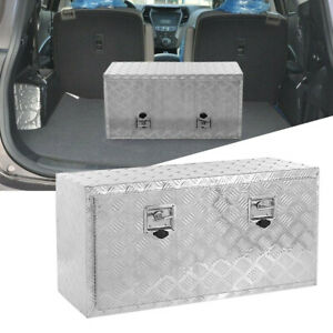 36inch Heavy Duty Aluminum Tool Box Kit For Truck Pick Up Trailer Home Storage