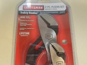 Brand New Craftsman 2 Piece Arc Joint Adjustable Pliers Set 7 In