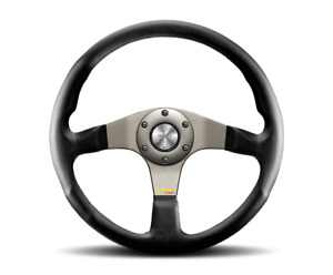 Momo Tuner Silver Steering Wheel Tun35bk0s us Dealer