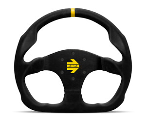 Momo Steering Wheel Mod 30 Black Suede 320mm Free Momo Suede Brush us Dealer
