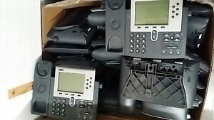 grade A Lot Of 5 Cisco Cp 7960g 7960 Poe Voip Business Ip Phone