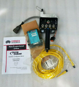 New Auto Crane omnex Wireless Transmitter T150 151 receiver R160