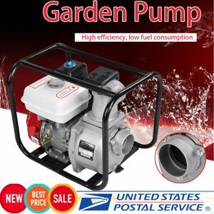 6 5hp 3 Inch High Pressure Flow Gasoline Water Pump 7m Garden Irrigation