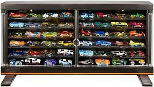 Hot Wheels Display Case For up To 50 Supercharged 1 64 Scale Racers