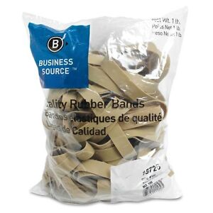 Business Source 15726 Rubber Bands Size 105 1 Lb Bag 5 X 5 8 bsn15726