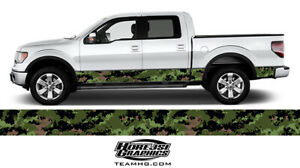 Backwoods Camo Rocker Panel Vinyl Wrap For Your Truck Or Suv 12 X 25 Feet