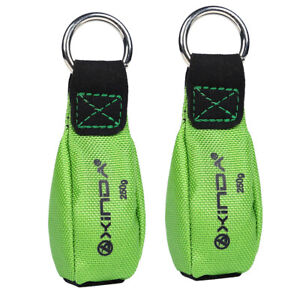 2 Pieces 250g Throw Weight Bag Tree Arborist Climbing Rigging For Throw Line