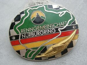 N rburgring Renngemeinschaft Nuerburgring German Scuderia Team 1966 Car Badge