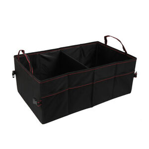 Car Vehicle Trunk Organizer Foldable Collapsible Storage Bag Multi compartment