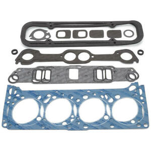 Edelbrock Engine Cylinder Head Gasket Kit 7382 For Pontiac 326 455 V8