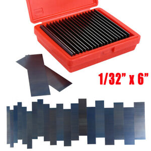 Parallel Set 1 32 Ultra Thin Steel 20 Pair Parallels 0001 Hardened