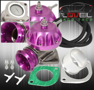For Kia 40mm Turbo Charger Piping Blow Off Valve Type Rz Bov Purple Adapter Set