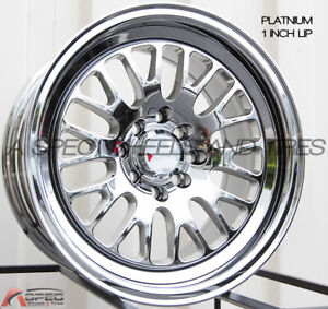 15x8 Xxr 531 4x100 114 3 0 Platinum Wheel 1