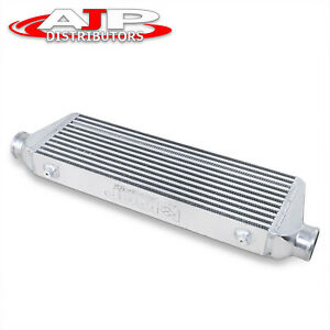 28 X 7 X 2 5 Fmic Turbo Bar And Plate Front Mount Jdm Intercooler For Nissan