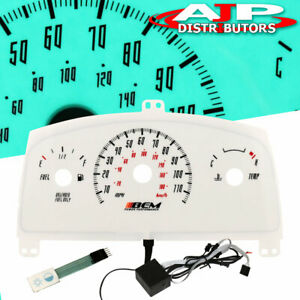 95 96 97 98 99 Chevy Cavalier Mt Indiglo Glow Gauge Manual Stick Shift No Tach