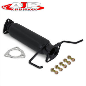 Jdm Performance Black High Flow Exhaust Cat Pipe For 1994 1997 Honda Accord 2 2l