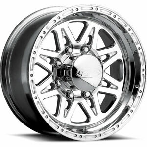 17 Inch Polished Raceline Renegade 8 Wheels Chevrolet Silverado 2500 8x6 5 17x9