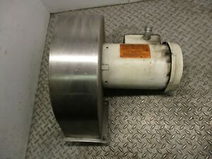 Reliance Squirrel Cage Blower p56x4545 3 Hp 230 460 V 3450 Rpm 7 4 3 7