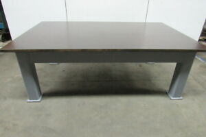 H d 1 3 8 Thick Top Steel Fabrication Layout Welding Table Work Bench 95 x60