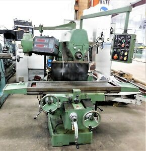 10142 Yci Supermax Horizontal vertical Milling Machine