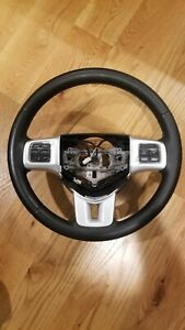 2014 Dodge Charger Steering Wheel With Controls Heated Wheel Oem 05057580ae