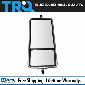 Trq 16 X 7 Stainless Steel West Coast Convex Mirror Bubble Back For Hd Semi