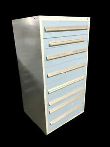 Vidmar Style 8 Drawer Industrial Tool Cabinet 30 X 27 5 X 59