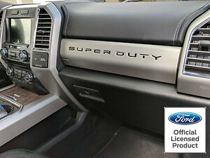 New 2019 Ford Super Duty Dash Letters Inserts F 250 F 350 F 450 Vinyl Decals