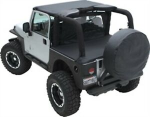 Fits 55 75 Cj5 Willys Smittybilt 90501 Outback Standard Bikini Top