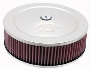 K N Filters 60 1080 Custom Air Cleaner Assembly