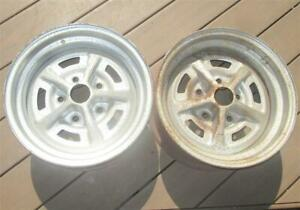 1969 Chevy Ss Wheels 3 27 Ya Camaro Chevelle Nova March 27 1969 Magnum 500 Pair