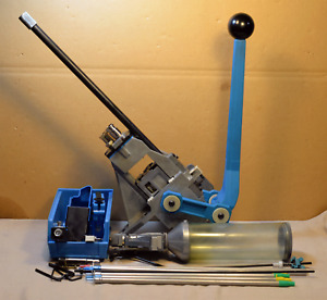 DILLON SQUARE DEAL RELOADING PRESS WITH 45 COLT DIES