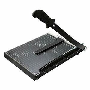 Paper Cutter A4 Paper Trimmer Heavy Duty Photo Guillotine Craft a4 black