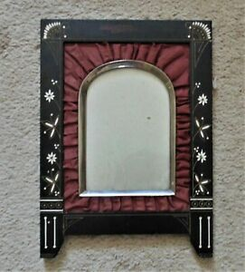 19th C Victorian Picture Frame For Antique Photograph Photo Aesthetic Eastlake