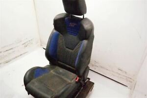 Black Passnger Front Bucket Seat Air Bag Cloth Leather Fits 13 14 Ford Focus Oem