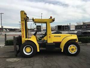 2 H200 Hyster 20 000 Lb Capacity Forklifts Diesel Pneumatic Tires Financing