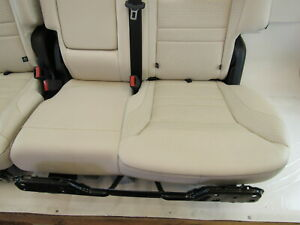 17 Mercedes X166 Gls63 Seats Second Row Ivory
