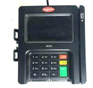 Ingenico Credit Card Terminal Isc250 Touch Screen Pos 360 Hardware Tested