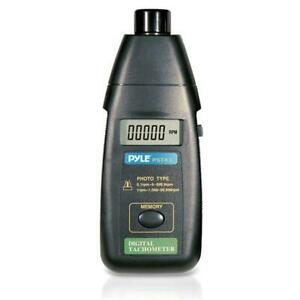 Precision Non contact Laser Tachometer With Extended Rpm Range Digital