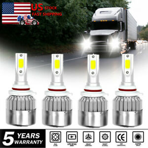 9005 9006 Led Headlight Bulb Conversion Kit For Freightliner Columbia 1996 2015