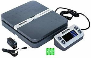 Accuteck Shippro 110 Lbs X 0 1 Oz Digital Shipping Postal Scale Gray