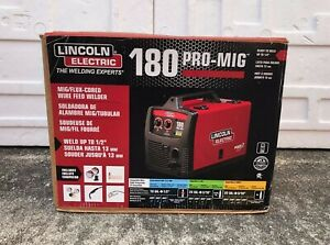 Lincoln Electric Pro Mig 180 Wire Feed Welder K2481 1 brand New