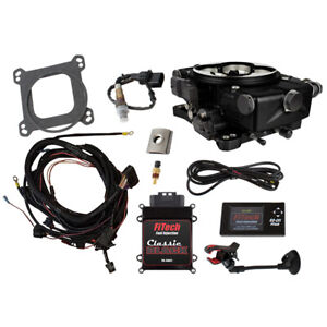 Fitech Fuel Injection System 30021 Go Efi Classic 550 Hp Tbi Black Anodized