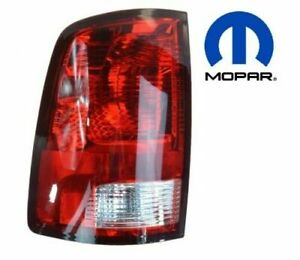 Oem Mopar 55277415af Tail Light Lamp Drivers Side Left Lh For Dodge Ram New