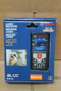 New Sealed Bosch Glm 42 Blaze 135 Ft Laser Measure With Full Color Display
