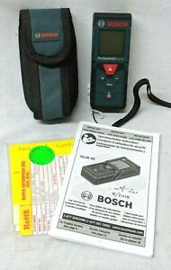 Bosch Glm 40 Professional Laser Measure 135 Feet
