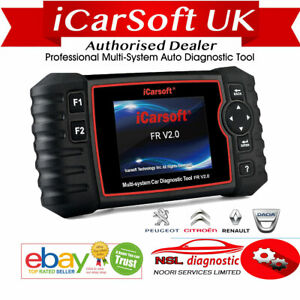 Interface Icarsoft Fr V2 0 Obd Obd2 Citroen Peugeot Renault Diagnostic Auto