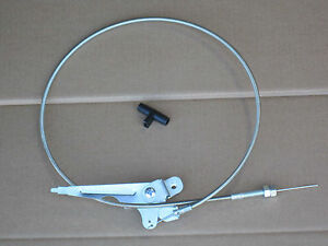 Throttle Cable And Knob For Ih International 184 Cub Lo boy
