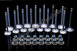 2 2 2 4 Gm Chevrolet Ecotec Dohc Intake Exhaust Valves With Valve Seals Full Set